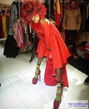 Denrele Edun rocks 8-inch heels in new fierce photos